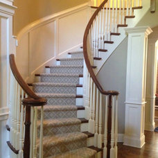 Traditional Staircase by Home Carpet One
