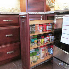 Kitchen Drawer Organizers by WoodArt Fine Cabinetry
