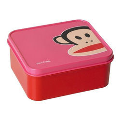 Paul Frank - PAUL FRANK Lunch Box, Pink - Our Paul Frank Lunch Box is perfectly sized for bringing lunch to school or to the office. This stylish lunch box in pink is secured with lids that keeps food fresh, it is complied with all relevant food safety regulations.