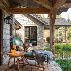 traditional porch by JLF & Associates, Inc.