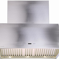 Cavaliere - Cavaliere  Wall Mount Hood - Wall Mounted Range Hood with 6 Speeds, Timer Function, LCD Keypad, Grease Filters, and Halogen Lights
