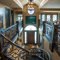 Traditional Staircase by Douglas Homes Ltd