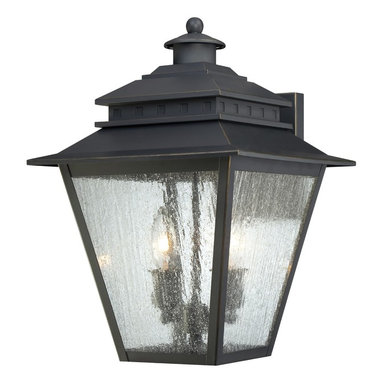 Quoizel Lighting - Quoizel Lighting CAN8411WB 2 Light Large Ambient Lighting Outdoor Wall SconceCar - This outdoor ambient lighting wall sconce from the Carson collection features clear seeded glass which allows for slightly diffused light.