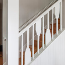 Traditional Staircase by Forward Design Build
