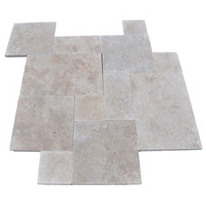 Mediterranean Floor Tiles by Travertine Mart