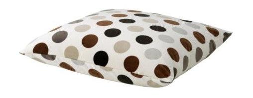 Anna Sörensson - IKEA STOCKHOLM CIRKEL Cushion - Cushion, white, brown