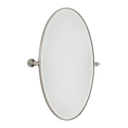 Minka Lavery - Minka Lavery 1432 Extra Large Oval Pivoting Bathroom Mirror - Minka Lavery 1432 Traditional / Classic Oval Mirror