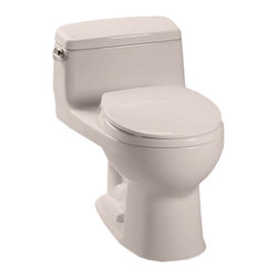Toto - Toto MS863113E#12 Sedona Beige Eco Supreme Toilet, 1.28 GPF - The UltraMax collection gives your bath a modern, tapered design flow and classically simple style.