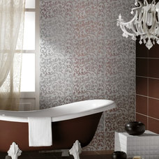 Eclectic Bathroom by Ceramiche Supergres