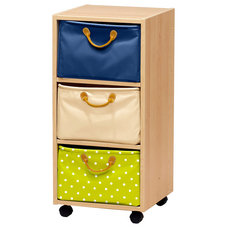 Contemporary Toy Storage by Lazzari USA - a brand of Foppapedretti