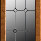 Dura Supreme Leaded Glass Doors - Dura Supreme Cabinetry