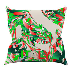 "Kess InHouse - Danny Ivan ""Italy"" World Cup Throw Pillow (16"" x 16"") - Rest among the art you love. Transform your hang out room into a hip gallery, that's also comfortable. With this pillow you can create an environment that reflects your unique style. It's amazing what a throw pillow can do to complete a room. (Kess InHouse is not responsible for pillow fighting that may occur as the result of creative stimulation)."