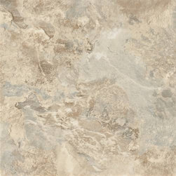 "Armstrong World Industries - Armstrong Tile Caliber Mesa Stone - Armstrong -- caliber, 0.080 gauge, 12"" x 12"" tile, urethane no-wax wear layer, easy to clean, easy to install, self-adhering, 45 tiles per carton (45 sq. Ft. ), 5-year limited warranty. Mesa stone."