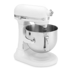 KitchenAid Stand Mixer, 7-Qt. - Ah, the KitchenAid Stand Mixer is perhaps the most quintessential wedding registry gift. Just because it's on most wedding registries doesn't mean it's overdone. It's simply a much-needed kitchen item. Ring in your new marriage with this beautiful piece; you won't regret it.