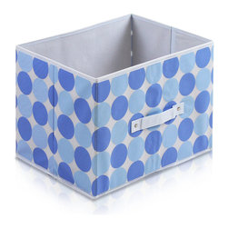 Furinno - Furinno Laci 111 Soft Storage Organizer, Blue - These bins are simple and stylish in design yet functional and suitable for any room and for any age. These colorful and fun bins are perfect for cutting down on clutter and at the same time added some joyful atmosphere to your space with its thoughtful fun design. These soft storage bins are easily pull out of your storage space thanks to the sewn in handle. Durable, eye-catching and easy to use. Furinno thinks of ways to fit in your space and fit on your budget.