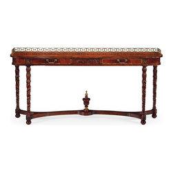 Jonathan Charles - New Jonathan Charles Console Table Mahogany - Product Details