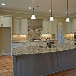 Cabinetry and Countertops - Amarillo Boreal Granite
