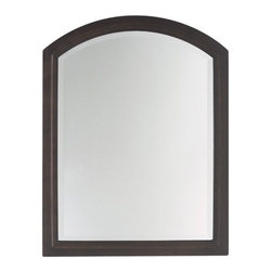 "Feiss - Boulevard Mirror in Oil Rubbed Bronze - This classic mirror is a beautiful way to decorate your home. With the unique shape and sophisticated design, it is sure to turn your guests' heads. Allow Murray Feiss to dress up your home today! Features: -Oil rubbed bronze finish. -Steel Frame. -Assembly Required. -Overall Dimensions: 31"" H x 24"" W. About Murray Feiss: Over fifty years ago, Rose Feiss, an immigrant with talent and spirit, began sewing lampshades to occupy her time while her son Murray was serving in the Navy during WWII. What began as an endeavor to pass the time, developed into a cottage industry filling the days of many wives and mothers in The Bronx, NY. After the war, Murray joined his mothers business and expanded it to include portable lighting. The company moved to larger headquarters, and the business grew. Three generations have nurtured the company and it now stands as a leader with a reputation for impeccable craftsmanship, innovative design and honest value. In 2002 the company opened a five and one-half million cubic foot, state of the art distribution center. The company now occupies several square blocks on Rose Feiss Boulevard in The Bronx, renamed by the Mayor of New York in honor of the companys matriarch. With pride in the past and commitment to the future, Feiss has expanded its extensive, copyrighted line of products to include grand chandeliers, casual fixtures, vanity bath lights with coordinated bath hardware, outdoor lighting, lamps, torchieres, wall brackets, and decorative accessories. A talented award winning in-house design team of industrial, graphic and interior designers work with engineers and draftsmen, color forecasters, and quality control experts to guarantee that only the finest materials are used and design integrity is maintained. These designs are brought to life in factories overseas, where over 3,500 skilled professionals manufacture the exclusive product. Every product is meticulously finished and quality tested, not once but twice by an independent team of engineers. They are proud to be the exclusive manufacturer of Bob Mackie Home, a name synonymous with glamour and style. Additionally, they are the exclusive lighting and accessory licensee for the Colonial Williamsburg Foundations: Williamsburg Pure  Simple  Today: a collaboration that brings the traditional and the transitional heritage that defines Williamsburgs commitment to authentic American design and quality."
