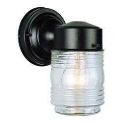 Trans Globe - Trans Globe 4900 BK 1-Light Coach Lantern - Trans Globe 4900 BK 1-Light Coach Lantern