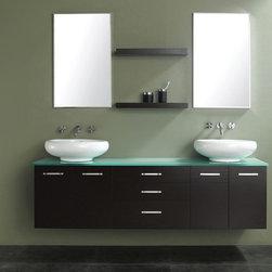 """72"""" Adams Double Vessel Sink Vanity (147-513-DA-5831) -"""