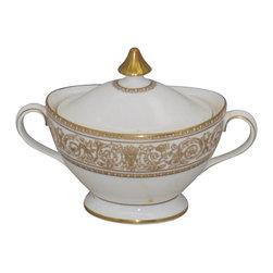 "Royal Doulton Sovereign 10"" Oval Vegetable Bowl,2002,Traditional,1,118.95,,,,2,5 - Royal Doulton Sovereign Sugar Bowl & Lid - Royal Doulton Sovereign Sugar Bowl & Lid"