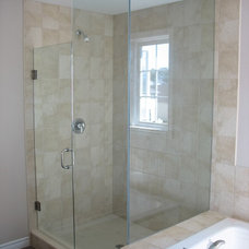 Modern Showers by Timeless Glass and Mirror LTD
