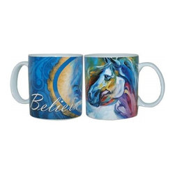 "Westland - 4"" Marcia Baldwin Mystic Power ""Believe"" Ceramic Coffee Mug, 14 oz. - This gorgeous 4"" Marcia Baldwin Mystic Power ""Believe"" Ceramic Coffee Mug, 14 oz. has the finest details and highest quality you will find anywhere! 4"" Marcia Baldwin Mystic Power ""Believe"" Ceramic Coffee Mug, 14 oz. is truly remarkable."