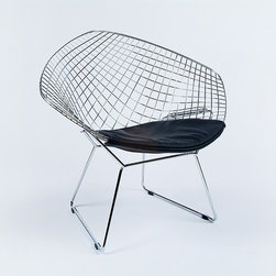 Modern Classics - Bertoia: Diamond Chair Reproduction - Features: