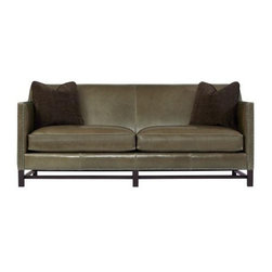 GoreDean - Charleston Leather Sofa - W 83 | D 37 | H 36 in.