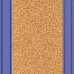 Parsons Cork Board with Custom Accents - Bulletin boards are great for organizing and displaying invites, awards and reminders, and they are perfect for kids' spaces.