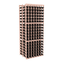 Wine Racks America - 7 Column Double Deep Cellar in Redwood, White Wash - This Double Deep kit is an efficient wine rack that stores 21 cases of wine in one spot. Ideal for restaurants, bars, liquor stores and private collections. Great as a cellar starting kit or as an expansion, our modular design improves flexibility without sacrificing quality. We guarantee that you will love our wine racks.