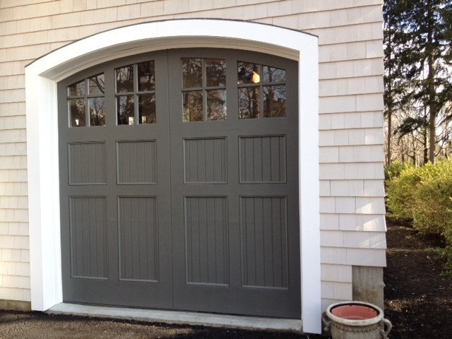 Traditional Garage And Shed by Vintage Custom Doors