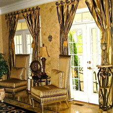 Traditional Curtains by Distinctive Designs By Janelle