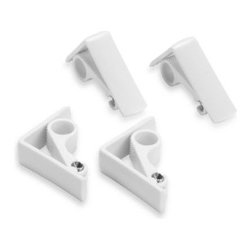 Mr. Bbq, Inc. - Spring Loaded Adjustable Table Clamps (Set of 4) - Say goodbye to flyaway tablecloths. These adjustable clamps are spring loaded for a secure fit, and attach to most tables quickly and easily.