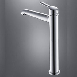 JollyHome - JollyHome Heightening Bathroom Sink Faucet,Chrome,Brass - Bathroom Sink Faucets .Contemporary .Chrome finish.Single Handle .All brass faucet