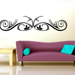 StickONmania - Plant Design #31 Sticker - A cool vinyl decal wall art decoration for your home  Decorate your home with original vinyl decals made to order in our shop located in the USA. We only use the best equipment and materials to guarantee the everlasting quality of each vinyl sticker. Our original wall art design stickers are easy to apply on most flat surfaces, including slightly textured walls, windows, mirrors, or any smooth surface. Some wall decals may come in multiple pieces due to the size of the design, different sizes of most of our vinyl stickers are available, please message us for a quote. Interior wall decor stickers come with a MATTE finish that is easier to remove from painted surfaces but Exterior stickers for cars,  bathrooms and refrigerators come with a stickier GLOSSY finish that can also be used for exterior purposes. We DO NOT recommend using glossy finish stickers on walls. All of our Vinyl wall decals are removable but not re-positionable, simply peel and stick, no glue or chemicals needed. Our decals always come with instructions and if you order from Houzz we will always add a small thank you gift.