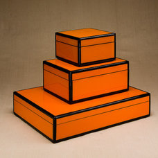 Contemporary Storage Boxes by Ruzzetti and Gow