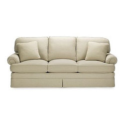 """Beekman Sofa - Classic design never goes out of style.  The Beekman Sofa is still built the way sofas used to be...according to your order with the design, upholstery and details you specify.  Dimensions available:  80"""" Sofa: 80""""W x 38""""D x 35""""H and88"""" Sofa: 88""""W x 38""""D x 35""""H Handcrafted by skilled artisans$3,450"""