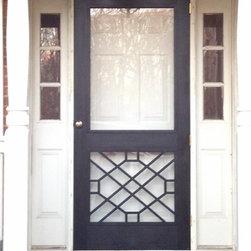 Traditional Screen Doors Find Storm Doors And Retractable