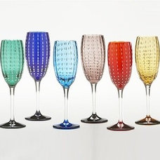 contemporary cups and glassware by YLiving.com