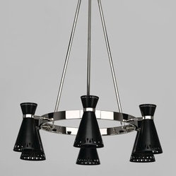 Robert Abbey | Havana 6 Light Chandelier