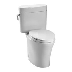 Toto - Toto Nexus Elongated Bowl Toilet Multicolor - CST794SFR#01 - Shop for Toilet from Hayneedle.com! Put a new face on your bathroom with the Toto Nexus Elongated Bowl Toilet and its elegant styling. Made from low-maintenance vitreous china this toilet comes in a soft cotton white. Its strong siphon jet flushes with perfect power.About TotoToto Ltd was founded in Kitakyushu Japan along with Toto USA in 1917. In almost a century they have grown into an international company with over 60 million plumbing fixtures produced and $5.1 billion dollars in annual sales. Today Toto is the largest plumbing manufacturer in the world and maintains 60 offices that employ over 23 500 workers worldwide. All Toto products feature elegant designs that are affordable and save as much water as possible. The standard of excellence is so high that Toto is the only plumbing manufacturer honored as a Water Efficiency Leader by the Environmental Protection Agency. Always looking to the future Toto has three centers devoted solely to research so they can continue to lead the plumbing fixture market for years to come. In fact that's their motto: People First Innovation.