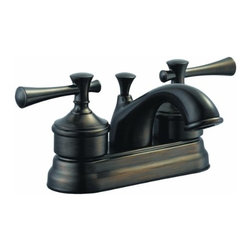 DHI-Corp - Ironwood 4-Inch Lavatory Faucet, Brushed Bronze - The Design House 524561 Ironwood 4-Inch Lavatory Faucet features a dual handle design, 4-inch mount and brass pop-up for sealing your drain. This faucet's body is made of brass and the handles are made of zinc alloy. Finished in brushed bronze, this faucet is traditional and elegant with a ceramic disc cartridge and brass waterways. The brass waterways contain zinc and copper which are known to prevent antimicrobial growth ensuring safe and clean water for your family. Compared to the 1-5 year lifespan of traditional faucets, ceramic disc faucets can last up to 30 years and provide ultimate protection against corrosion to the water valve. With the Water Sense label, this faucet is a water-efficient product and certified to meet EPA Water Sense criteria for efficiency and performance. The 1.3-gallon per minute flow rate ensures a steady water flow after years of everyday use and the high vaulted spout extends 5-inches which leaves plenty of room for washing your hands. This faucet has a quarter turn stop lever handle operation and is UPC, ADA, Ab-1953, lead-free and cUPC compliant. The Design House 524561 Ironwood 4-Inch Lavatory Faucet comes with a lifetime limited warranty that protects against defects in materials and workmanship. Design House offers products in multiple home decor categories including lighting, ceiling fans, hardware and plumbing products. With years of hands-on experience, Design House understands every aspect of the home decor industry, and devotes itself to providing quality products across the home decor spectrum. Providing value to their customers, Design House uses industry leading merchandising solutions and innovative programs. Design House is committed to providing high quality products for your home improvement projects.