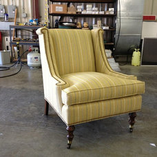 Traditional Armchairs And Accent Chairs by Upholstery Studio, Inc.