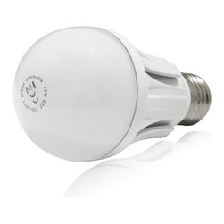 TorchStar - 110V 10W Dimmable A19 LED Light Bulb - 60W Equivalent E26/E27 Base 120 Degree, W - Overview