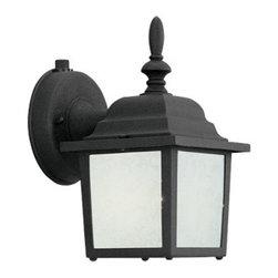 "Designer Fountain - Builder Cast Aluminum-ES 5"" Wall Lantern - 5 inches Wall Lantern (CFL)"