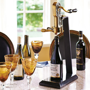 Countertop Wine Opener : ... Wine Opener uncorks wine bottles with a simple pull that makes you