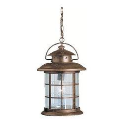 Kichler Lighting - Kichler Lighting 9870RST Rustic 1 Light Outdoor Pendants/Chandeliers in Rustic - Outdoor Pendant 1Lt