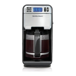 Hamilton Beach - Hamilton Beach 12 Cup Digital Coffee - Swivel base for better access and easy to fill removable water reservoir