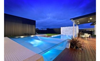 modern pool by outfromtheblue.com.au